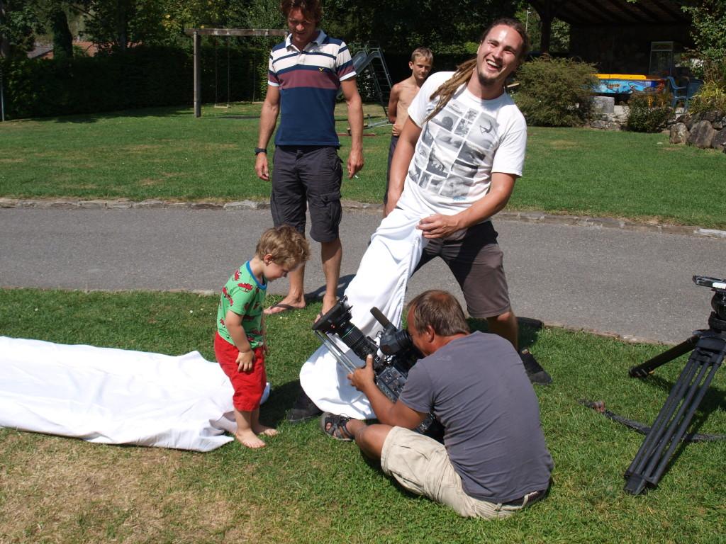 Opnames van Camiel tijdens onze Campinglife-dag.