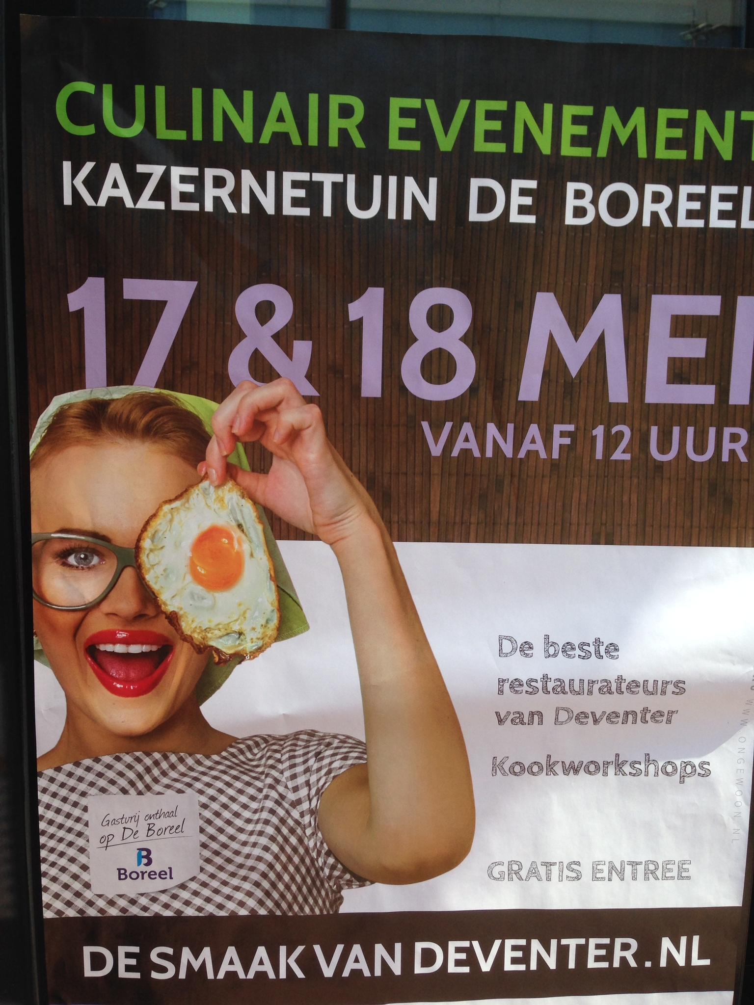 De Smaak van Deventer met kinderen 2014