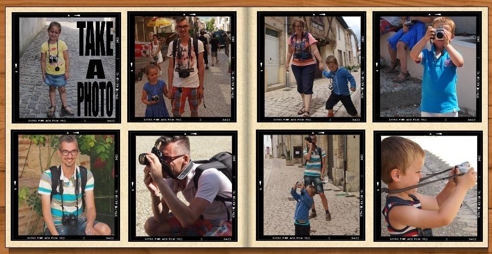 Fotos maken met kinderen op vakantie