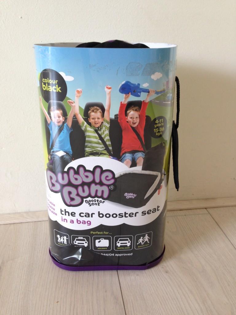De verpakking van de BubbleBum.