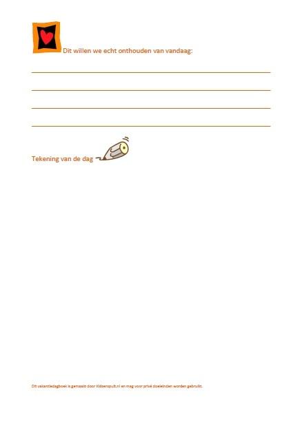 vakantiedagboek
