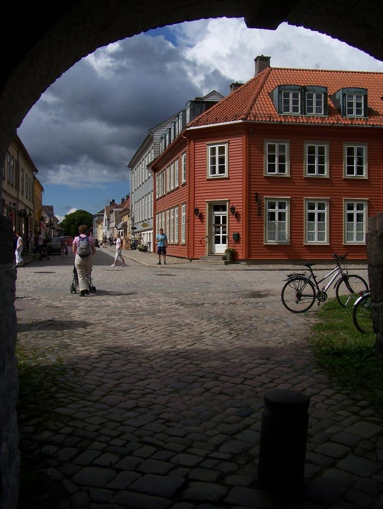 Wandelen door Frederikstad