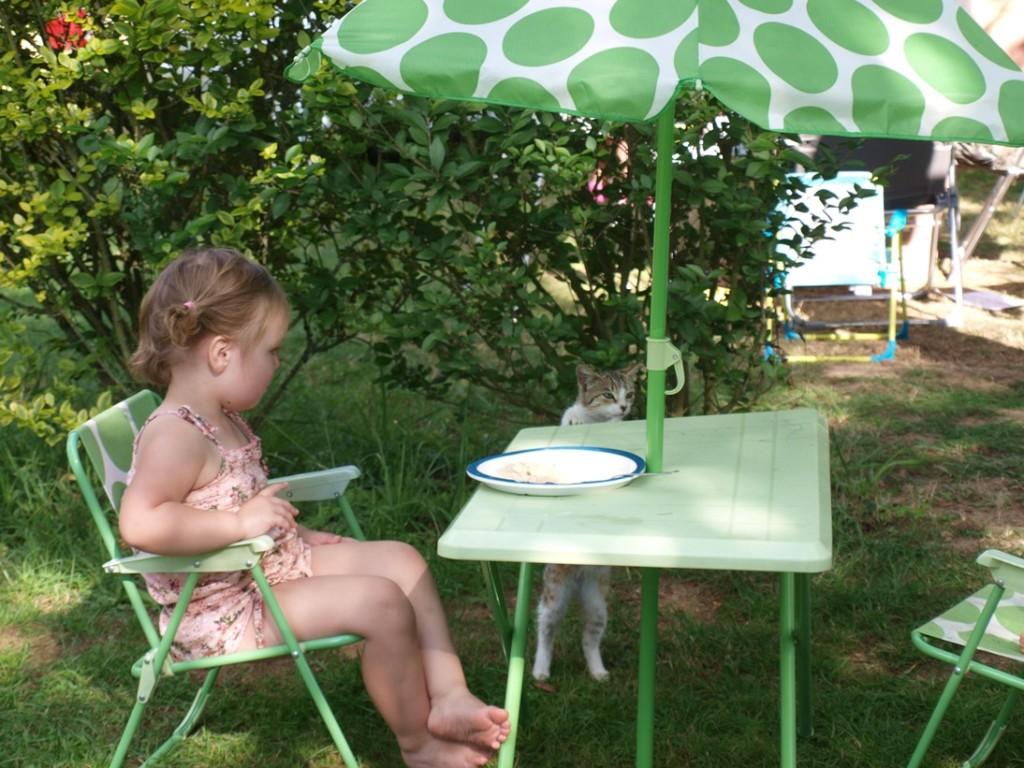 Gast aan tafel