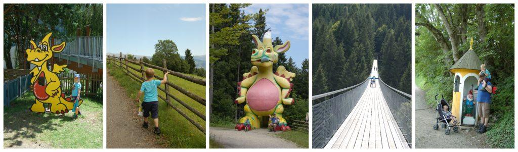Een sprookjesachtige wandeling tijdens een tussenstop in Oostenrijk