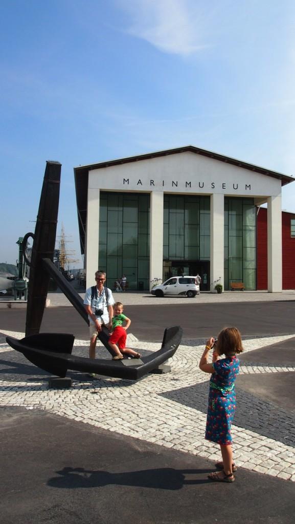 Het Marin Museum in Karlskrona