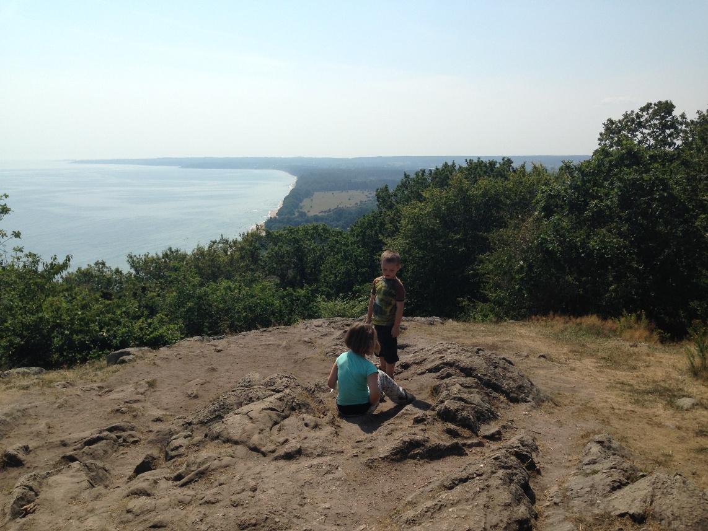 vakantie met kinderen, kids er op uit, wandelen met kinderen, Stenshuvud, Zweden, Nationaal park, rondreis Zweden, kampeerhuttenrondreis Zweden met kinderen
