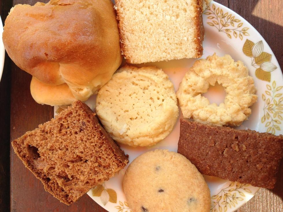 Heel veel koekjes eten. Zoveel als je op kan!