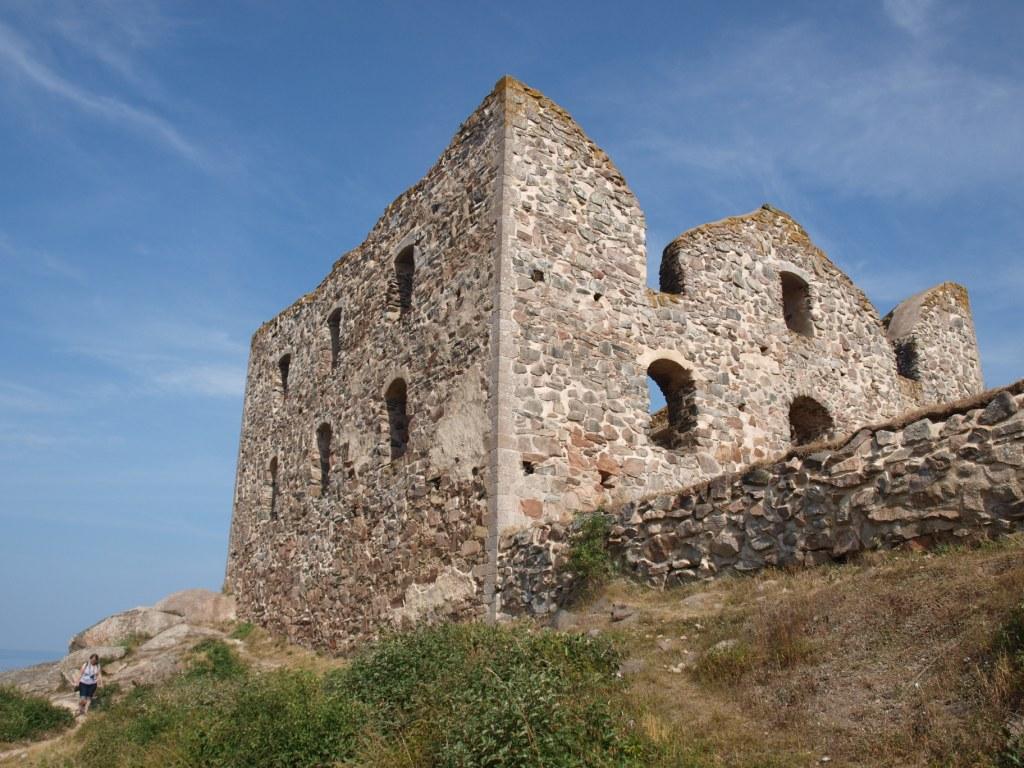 Brahehus ruine nabij Gränna.