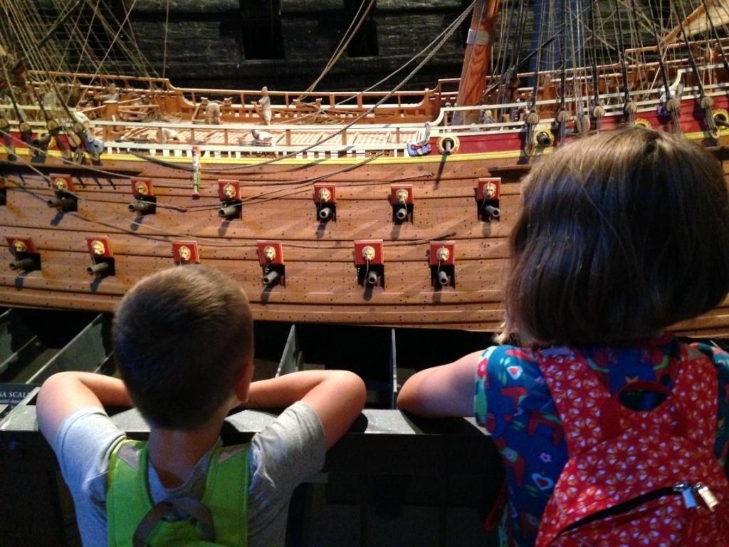 vakantie met kinderen, Stockholm met kinderen, Vasa Museum, Vasa Museet, Vasa Museum met kinderen, Stockholm, kids er op uit, citytrip met kinderen