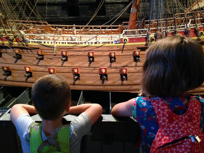 Vasa museum met kinderen