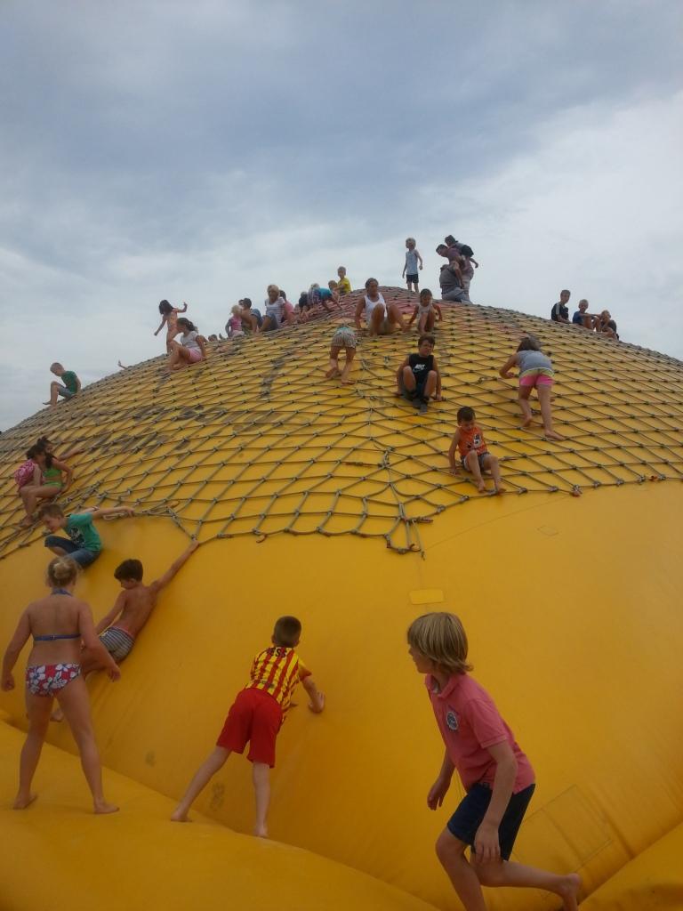 De nummer 1 attractie bij Irrland voor de kinderen (5 en 7 jaar oud) van Suzanne.
