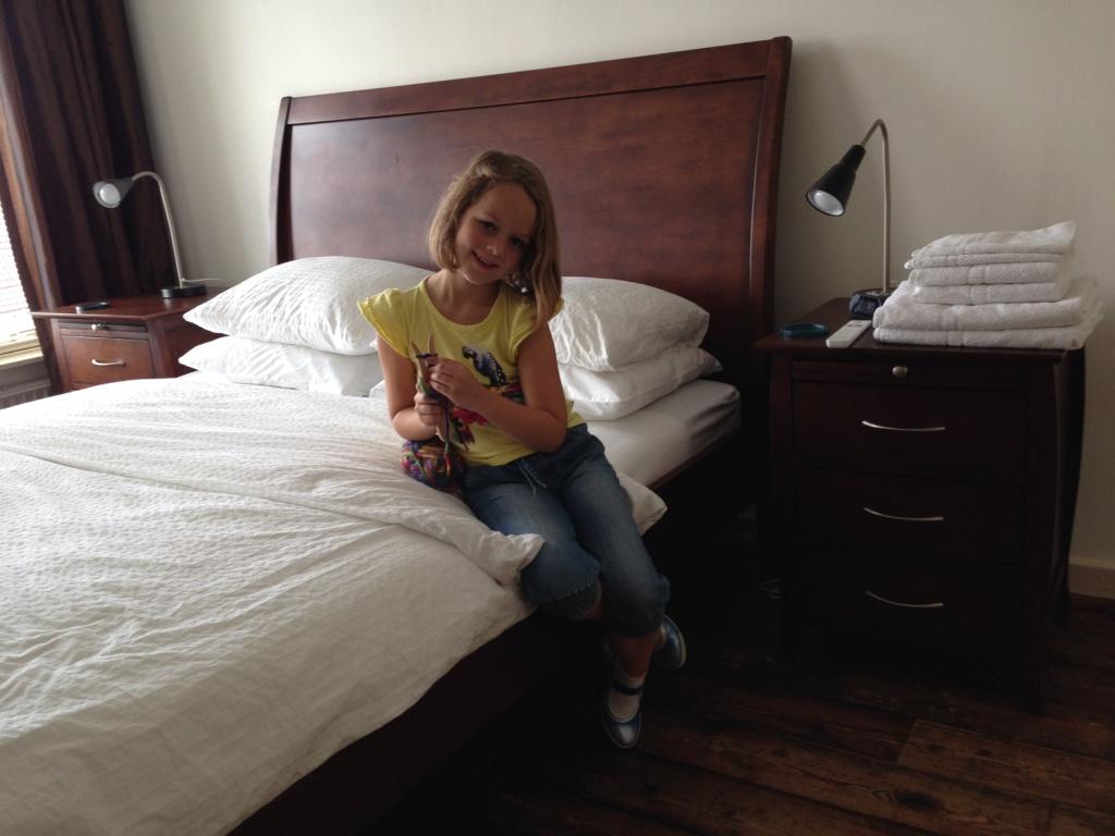 Onze suite bij B&B Jamila Suites.