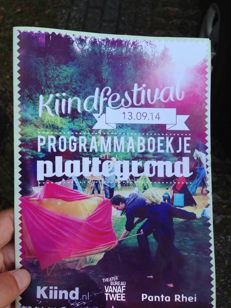 Een uitgebreid programma op het Kiind-festival.