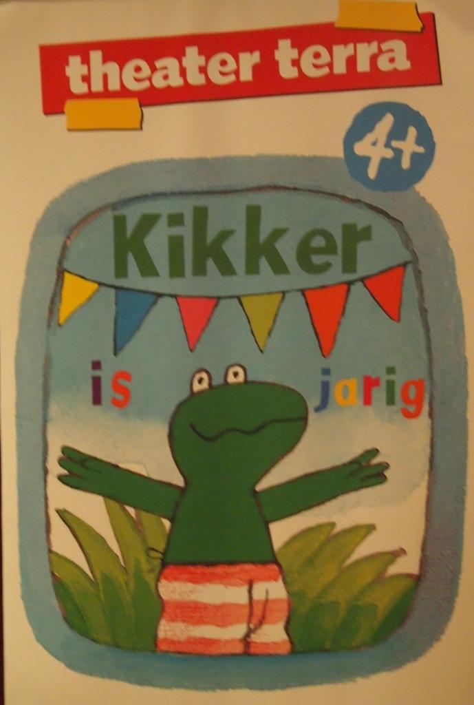 Kikker is jarig en viert dat met een familiemusical.