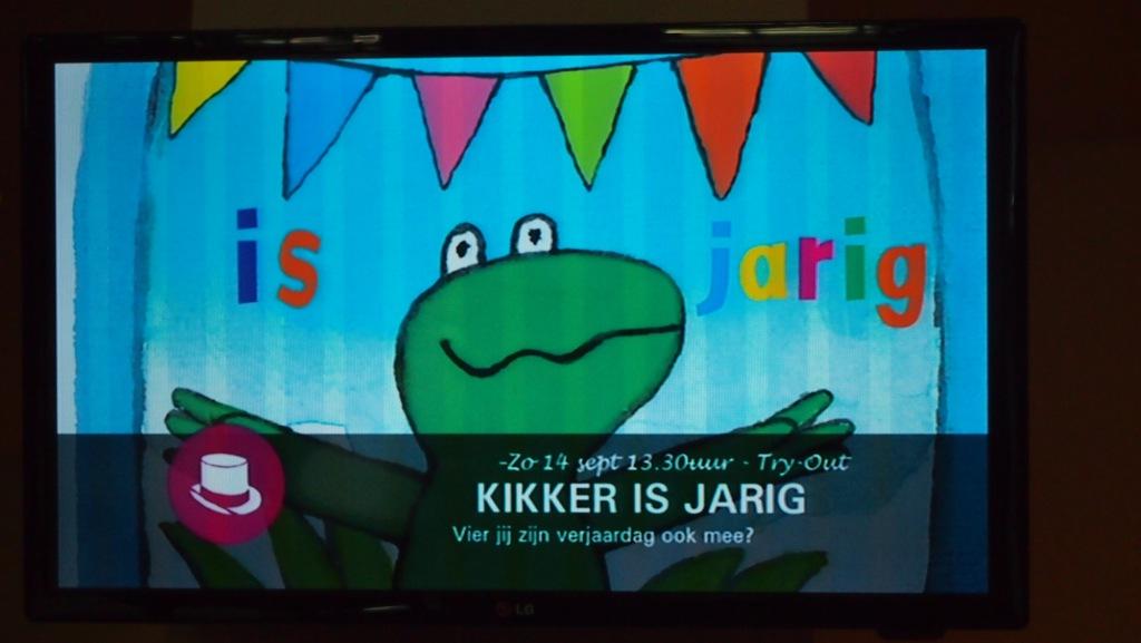 Try-out Kikker is jarig bij Theaterhotel Almelo