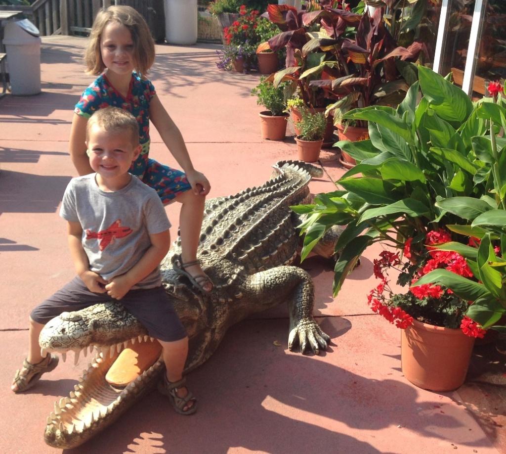Crocodile dundees!