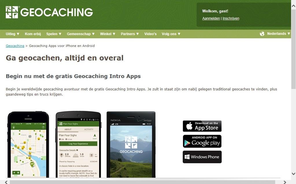 Geocaching met kinderen kan je met een gratis app gewoon eens proberen. Wil je meer, dan kan je een app of GPS kopen.