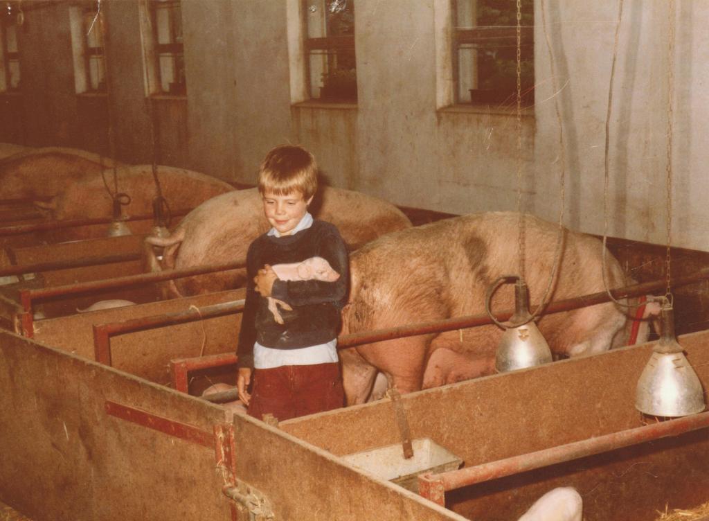 Terug in de tijd naar 1984: kamperen bij een Duitse boerderij.