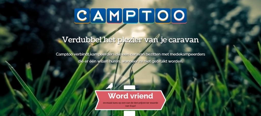 Je kan je al inschrijven op de website van Camptoo.