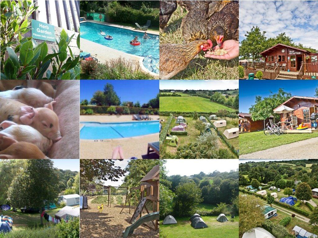 Impressie Fauxquets Valley Camping (bron: foto's zijn afkomstig van website van de camping).