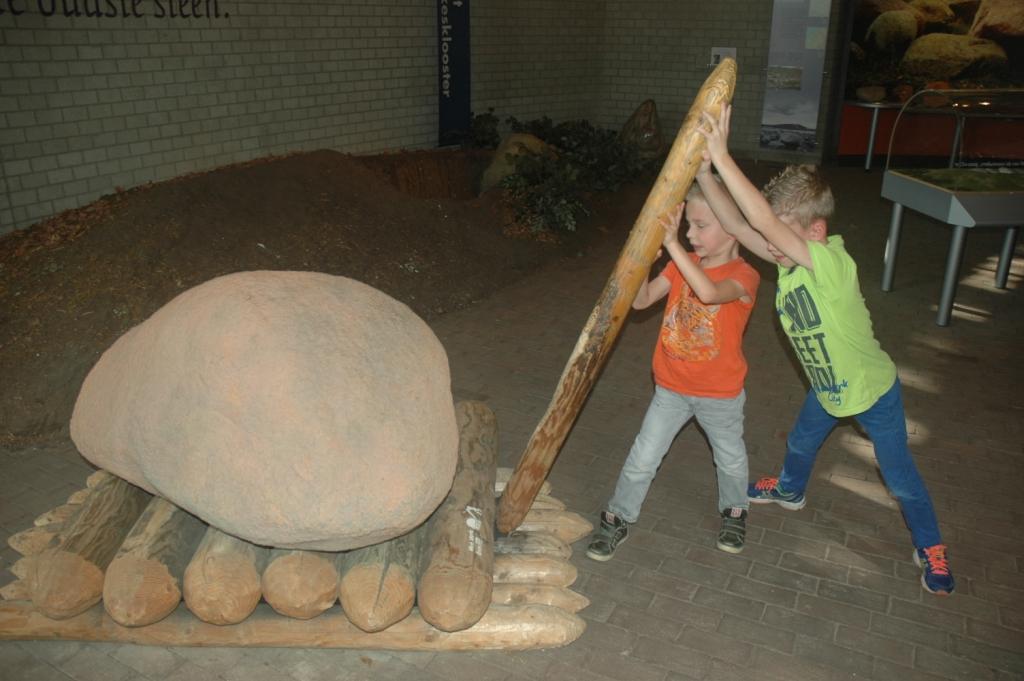 Leuk voor kinderen: zelf van alles mogen proberen.