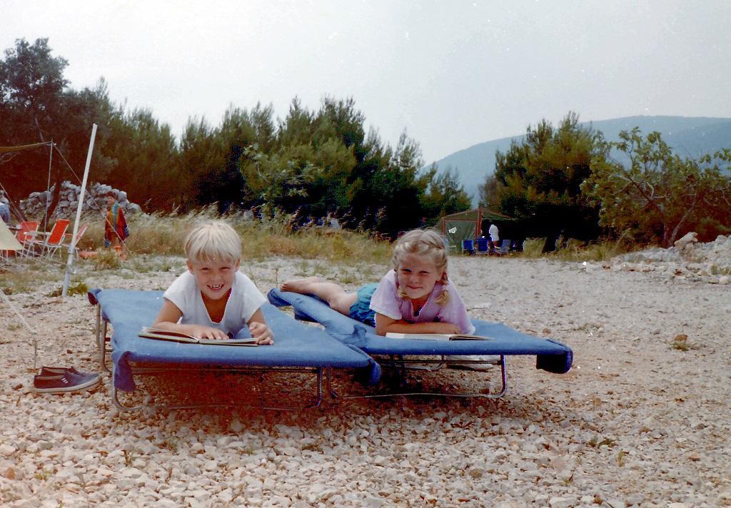 1985.... vakantie in Joegoslavië.