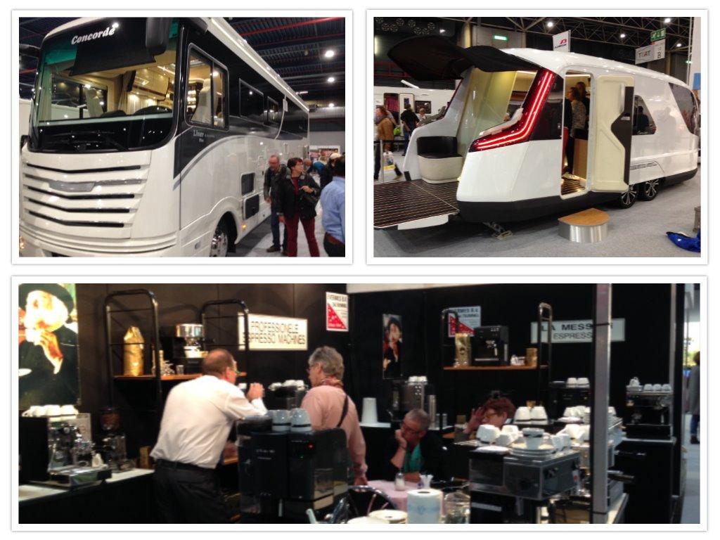 Hoezo crisis? Camperbussen van 340.000 euro, een hypermoderne Knauss en uitgebreide espressomachines....
