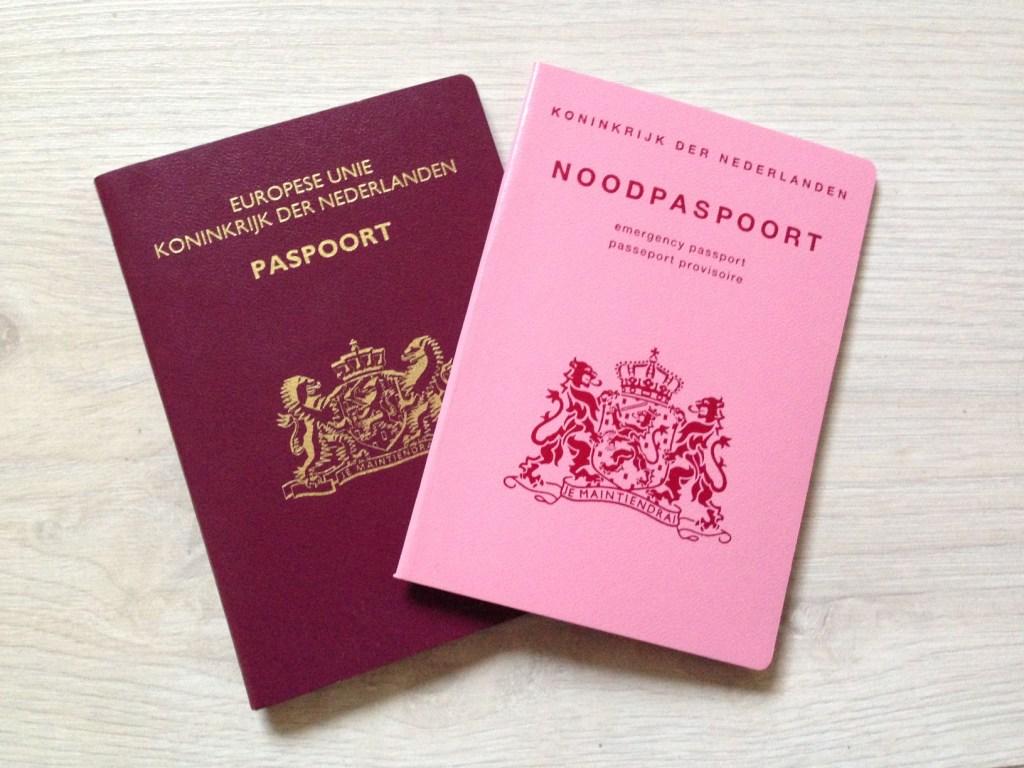 Het originele paspoort is kwijt, maar we kunnen op vakantie!