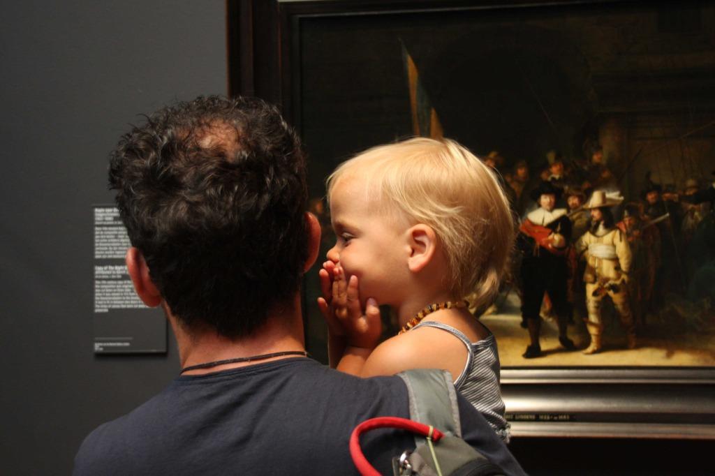 Het Rijksmuseum met kinderen bezoeken is echt heel leuk