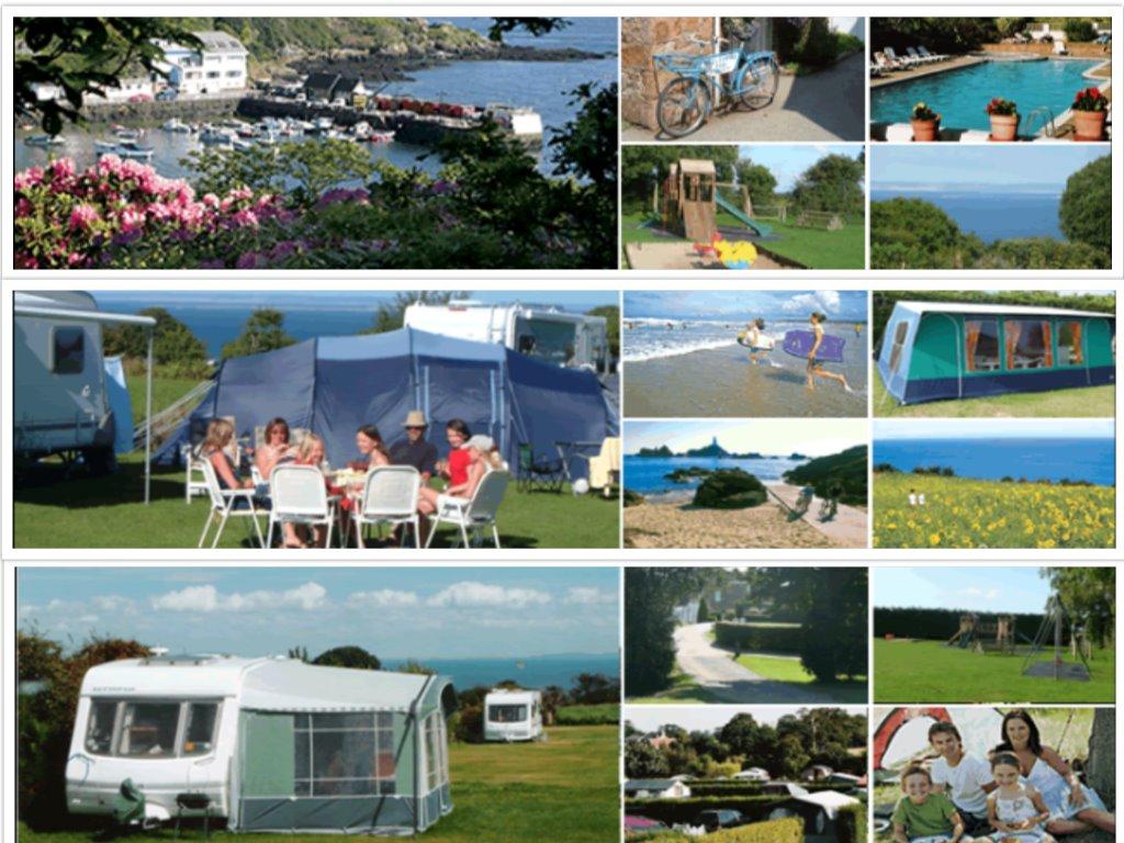 Impressie Rozel Camping Park (bron: foto's zijn afkomstig van website van de camping).