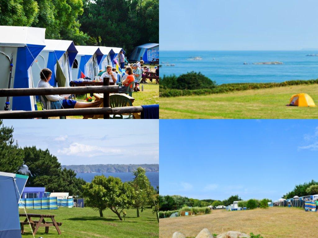 Impressie Seagull Campsite Herm (bron: foto's zijn afkomstig van website van de camping).