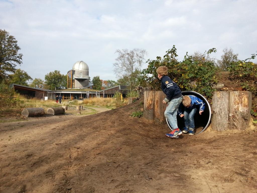 Gaaf! Lekker spelen bij het Buitencentrum Sallandse Heuvelrug.