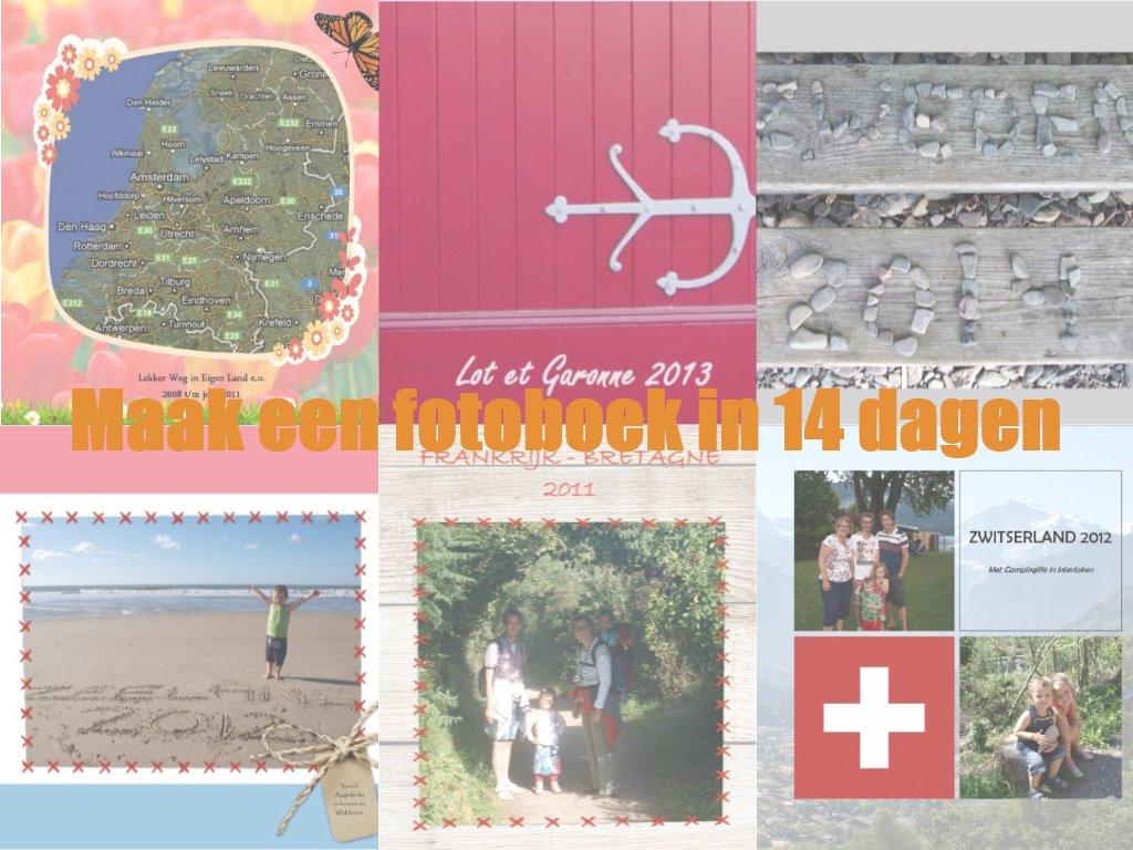 Ik maakte een stappenplan waarmee je binnen 2 weken je vakantiefotoboek klaar is.
