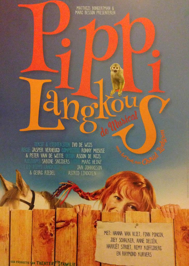Aanrader met en zonder kinderen: de Pippi Langkous musical.