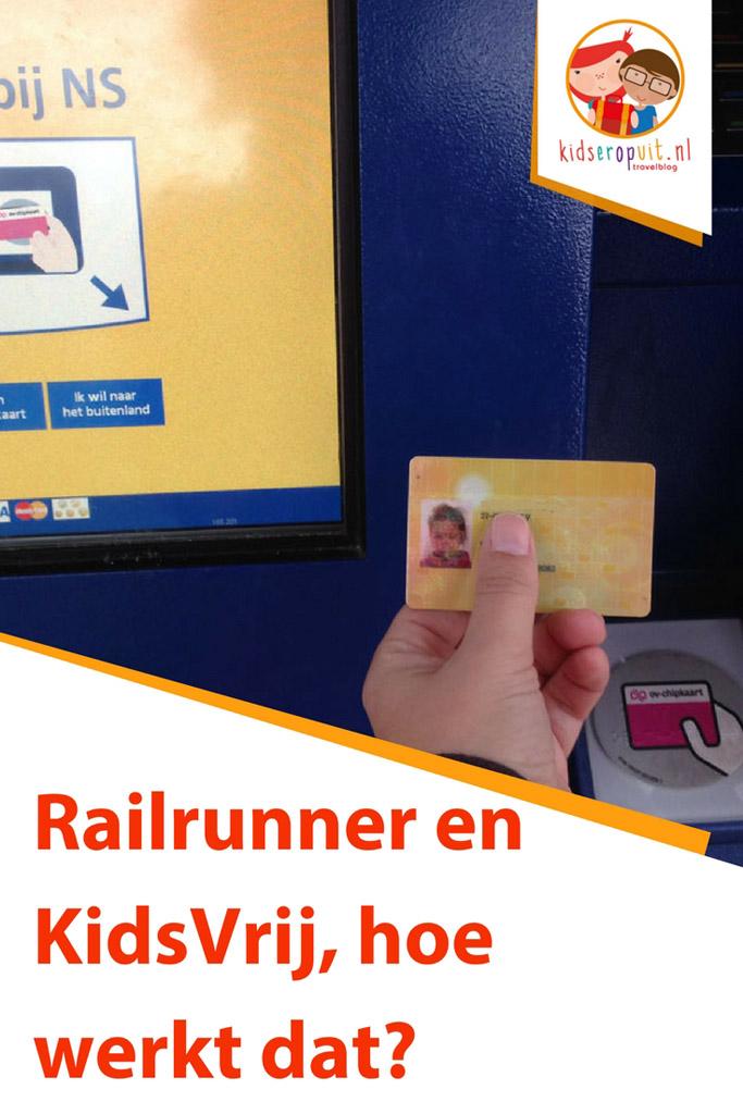 Railrunner en KidsVrij, hoe werkt dat?