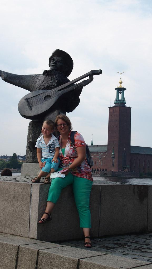 Smile in Stockholm.