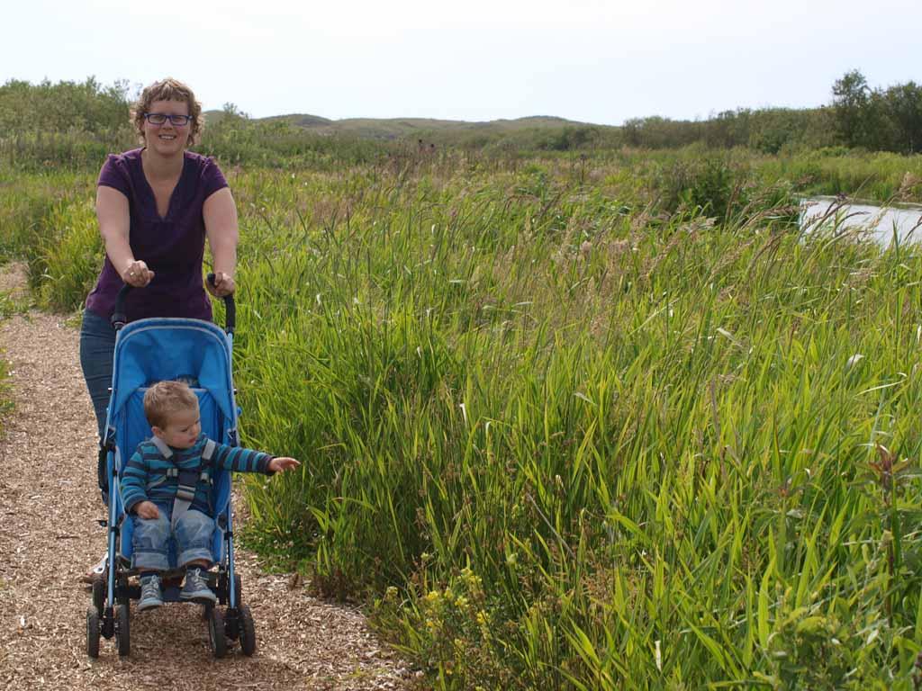 Natuurgebied Zwanenwater is goed te bewandelen met kinderen.