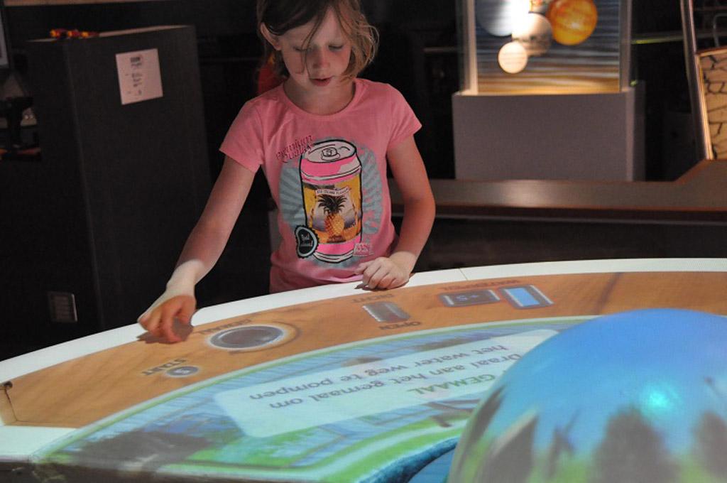 In het Watermuseum leren kinderen ook nog iets.