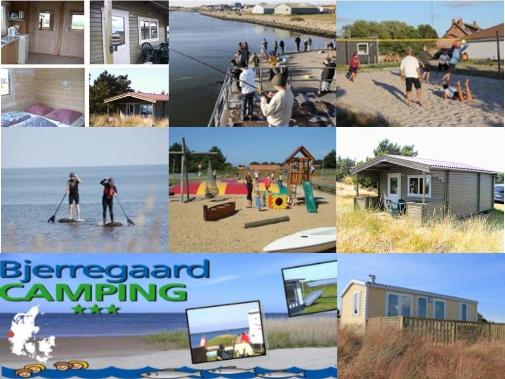 Impressie Bjerregaard Camping (bron foto's: website camping).