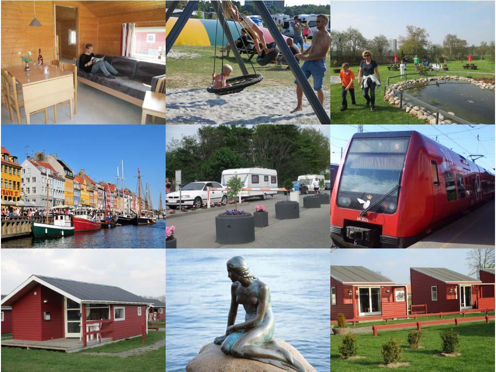Impessie camping Absalon nabij Kopenhagen (bron foto's: website camping).