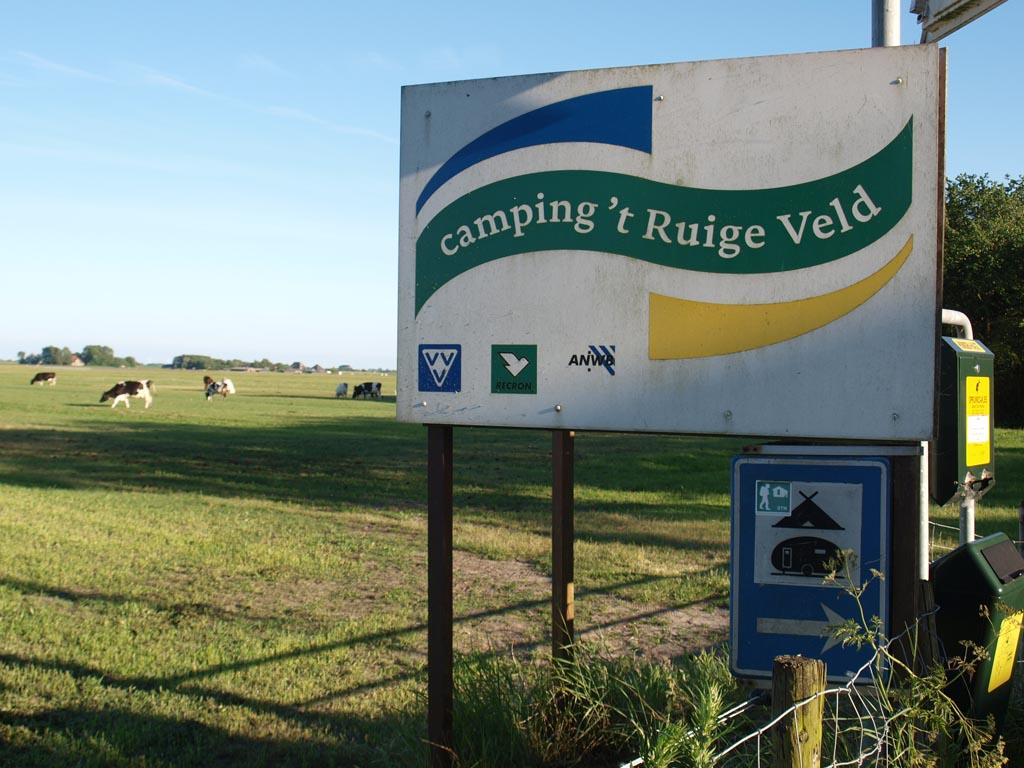Camping 't Ruige Veld ligt een Noord-Hollands akkerbouwgebied en op fietsafstand van de zee.