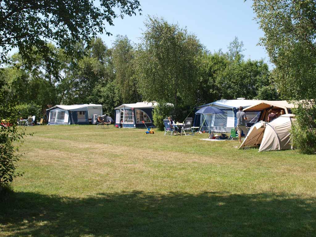 Ons kampeerveldje.