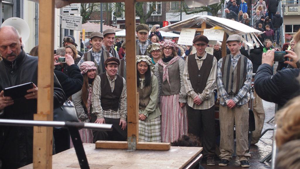 Dickens Festijn Deventer catering tijdens het wachten