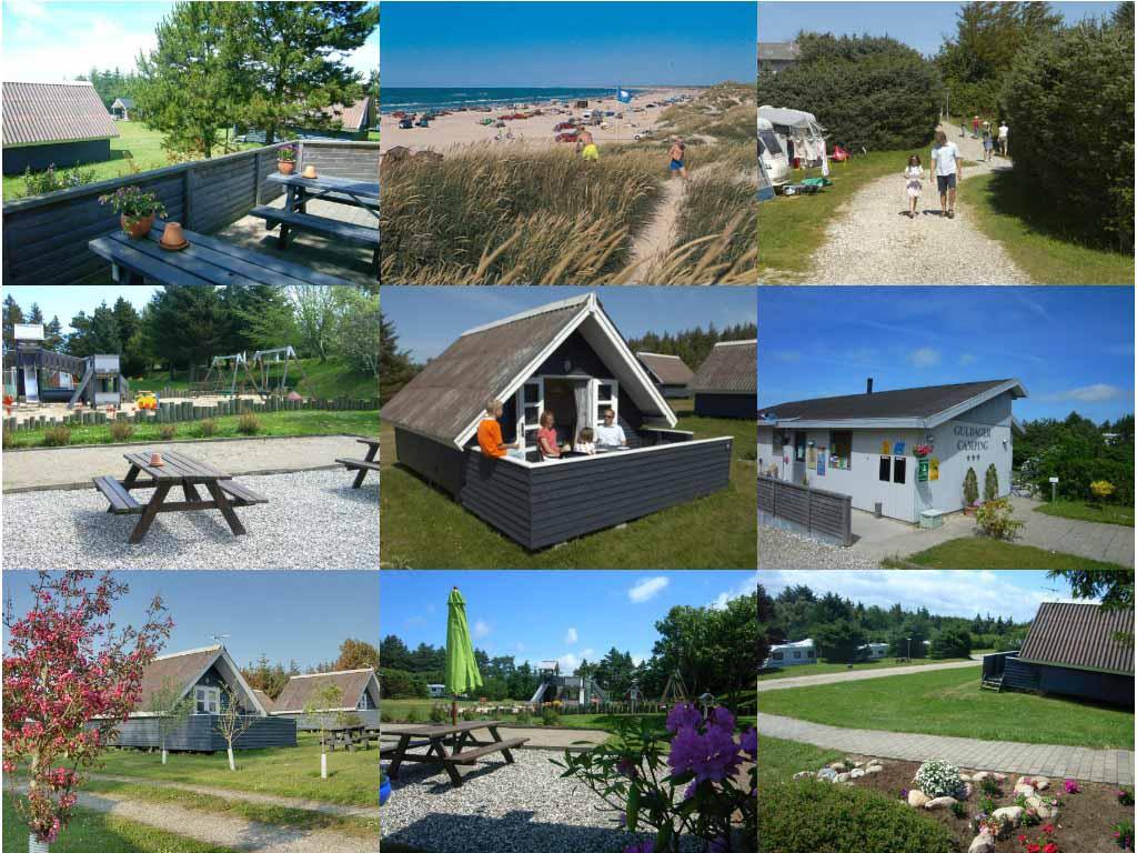 Impressie Guldager Camping (bron foto's: website camping).