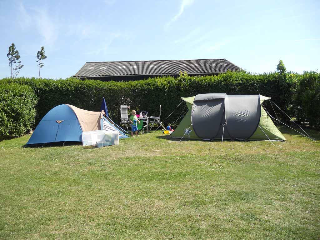 Het kampeerstekkie van Lineke op Camping Krabbeneiland.