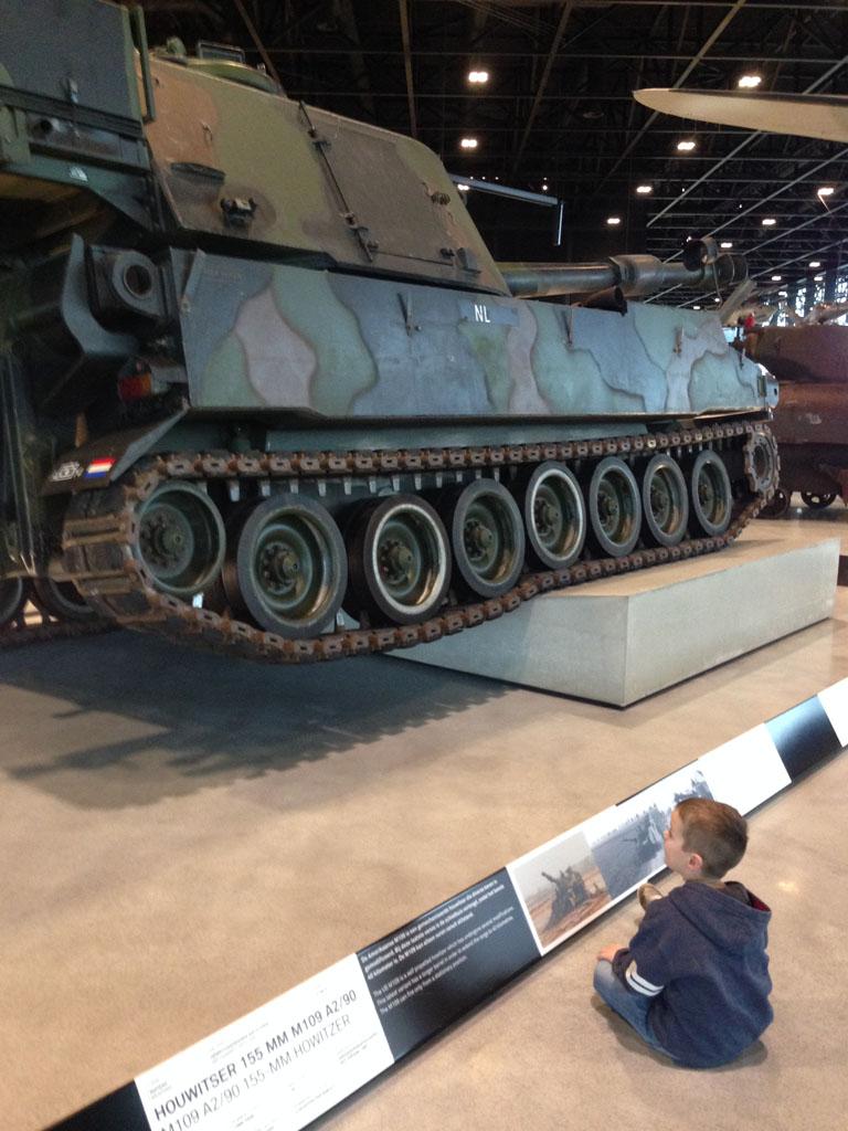 Wow, een echte tank!