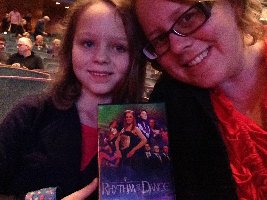 Met grote dochter naar een grote mensen voorstelling.