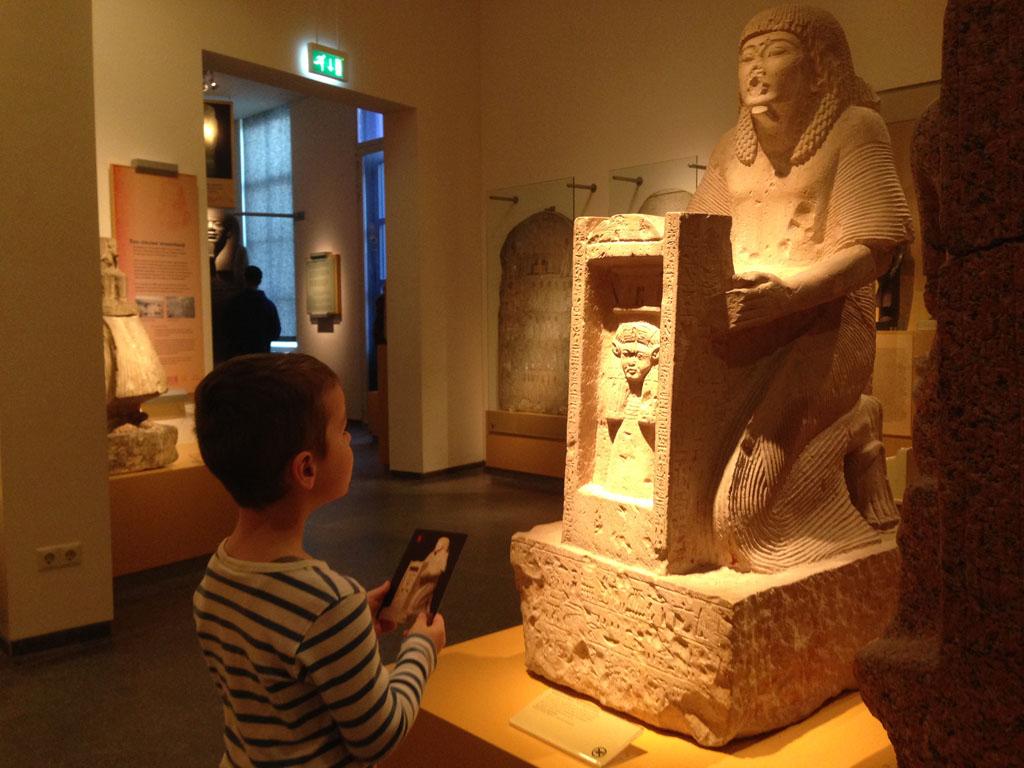 Rijksmuseum van Oudheden met kinderen