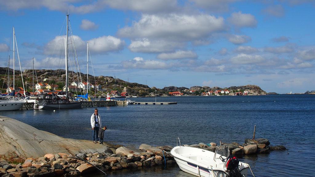 Genieten van de Zweedse kust!