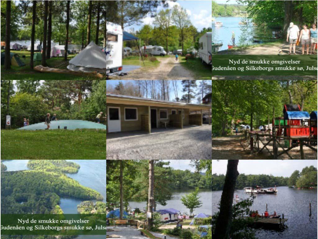 Impressie Skyttehusets Camping (bron foto's: website camping).